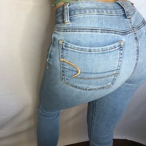 American Eagle Outfitters Low Rise Jeans